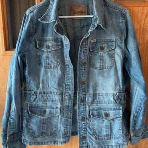 Levi jean jacket! Size large
